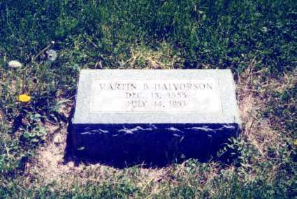 HALVORSON, MARTIN B. - Mitchell County, Iowa | MARTIN B. HALVORSON