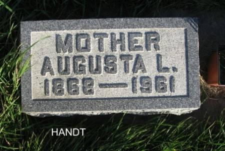 HANDT, AUGUSTA L. - Mitchell County, Iowa | AUGUSTA L. HANDT