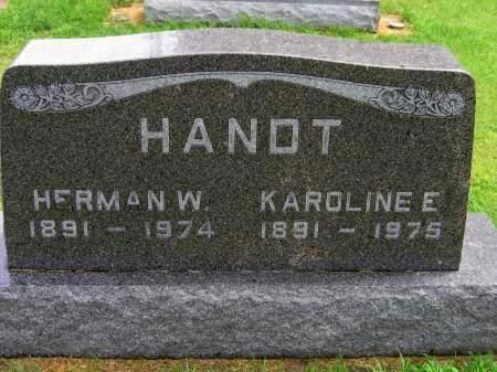 HANDT, HERMAN - Mitchell County, Iowa   HERMAN HANDT