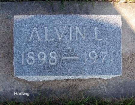 HARTWIG, ALVIN L. - Mitchell County, Iowa   ALVIN L. HARTWIG