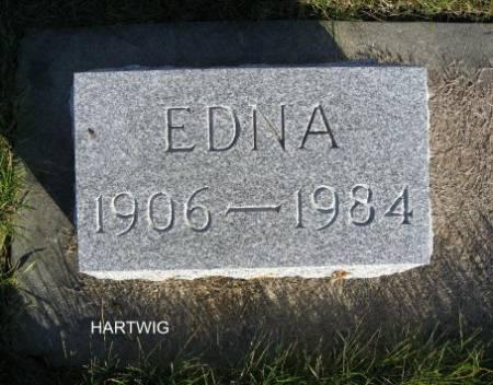 HARTWIG, EDNA - Mitchell County, Iowa | EDNA HARTWIG