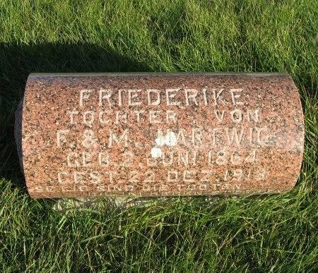 HARTWIG, FRIEDERIKE - Mitchell County, Iowa | FRIEDERIKE HARTWIG
