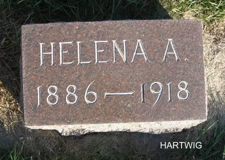 RUEHLOW HARTWIG, HELENA A. - Mitchell County, Iowa   HELENA A. RUEHLOW HARTWIG
