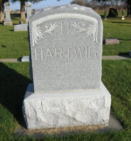 HARTWIG, HENRY (LOT) - Mitchell County, Iowa | HENRY (LOT) HARTWIG