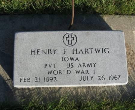 HARTWIG, HENRY F. - Mitchell County, Iowa | HENRY F. HARTWIG