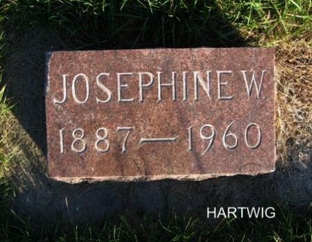 HARTWIG, JOSEPHINE W. - Mitchell County, Iowa | JOSEPHINE W. HARTWIG