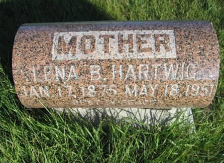 HARTWIG, LENA B. - Mitchell County, Iowa | LENA B. HARTWIG