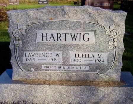 HARTWIG, LAWRENCE W. - Mitchell County, Iowa   LAWRENCE W. HARTWIG