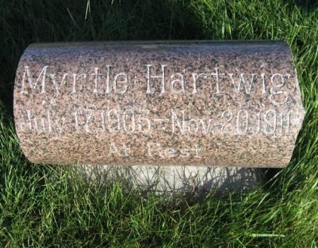 HARTWIG, MYRTLE - Mitchell County, Iowa | MYRTLE HARTWIG