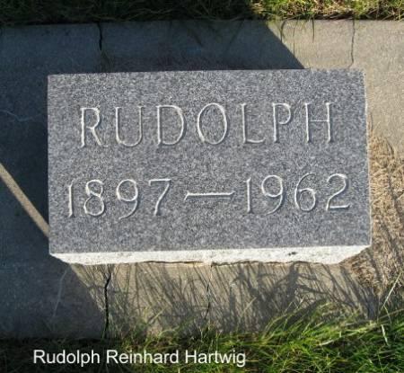 HARTWIG, RUDOLPH REINHARD - Mitchell County, Iowa   RUDOLPH REINHARD HARTWIG