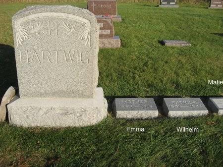 HARTWIG, EMMA (LOT) - Mitchell County, Iowa | EMMA (LOT) HARTWIG