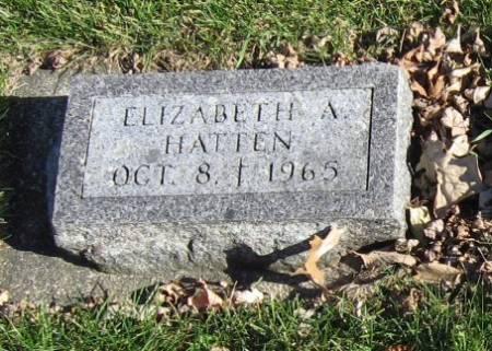 HATTEN, ELIZABETH A. - Mitchell County, Iowa   ELIZABETH A. HATTEN