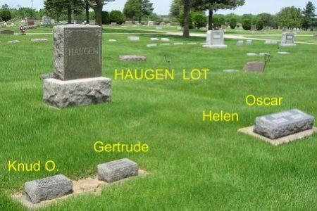 HAUGEN, KNUD O. (LOT) - Mitchell County, Iowa | KNUD O. (LOT) HAUGEN