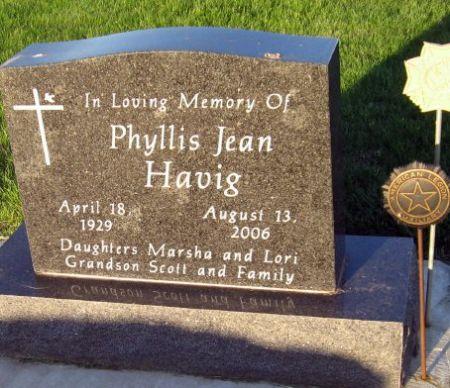 HAVIG, PHYLLIS JEAN - Mitchell County, Iowa | PHYLLIS JEAN HAVIG