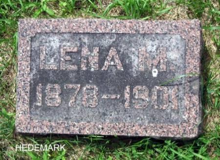HEDEMARK, LENA M. - Mitchell County, Iowa | LENA M. HEDEMARK