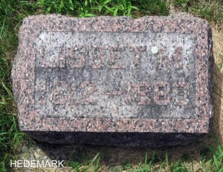 HEDEMARK, LISBET M. - Mitchell County, Iowa | LISBET M. HEDEMARK