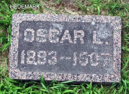 HEDEMARK, OSCAR L. - Mitchell County, Iowa | OSCAR L. HEDEMARK