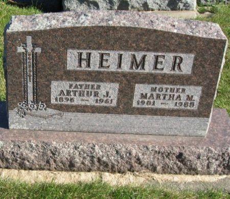 HEIMER, MARTHA M. - Mitchell County, Iowa   MARTHA M. HEIMER