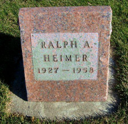 HEIMER, RALPH A. - Mitchell County, Iowa | RALPH A. HEIMER