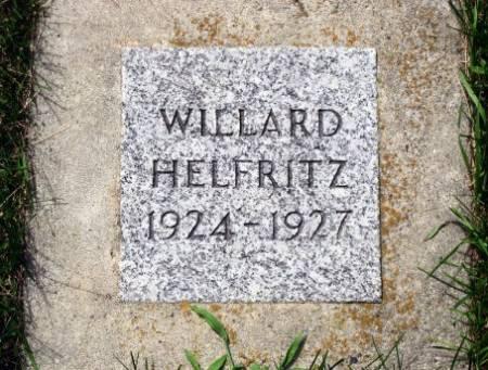 HELFRITZ, WILLARD - Mitchell County, Iowa | WILLARD HELFRITZ