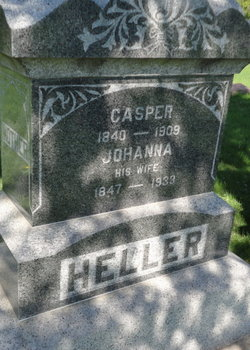 MEYER HELLER, JOHANNA - Mitchell County, Iowa | JOHANNA MEYER HELLER