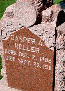 HELLER, CASPER - Mitchell County, Iowa   CASPER HELLER