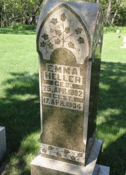 HELLER, EMMA - Mitchell County, Iowa | EMMA HELLER
