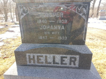 HELLER, KASPER - Mitchell County, Iowa   KASPER HELLER