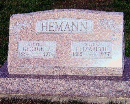 HEMANN, GEORGE J. - Mitchell County, Iowa | GEORGE J. HEMANN