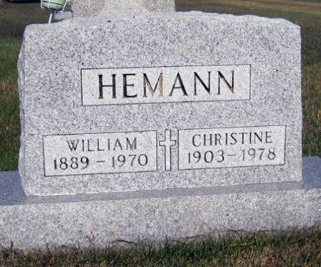HEMANN, WILLIAM - Mitchell County, Iowa | WILLIAM HEMANN