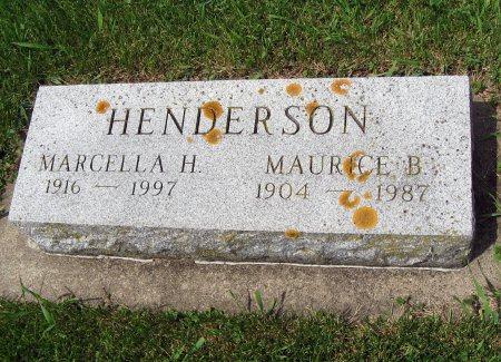 HENDERSON, MAURICE B. - Mitchell County, Iowa | MAURICE B. HENDERSON