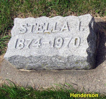 HENDERSON, STELLA I. - Mitchell County, Iowa | STELLA I. HENDERSON