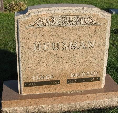 HEUSMAN, MILDRED - Mitchell County, Iowa | MILDRED HEUSMAN
