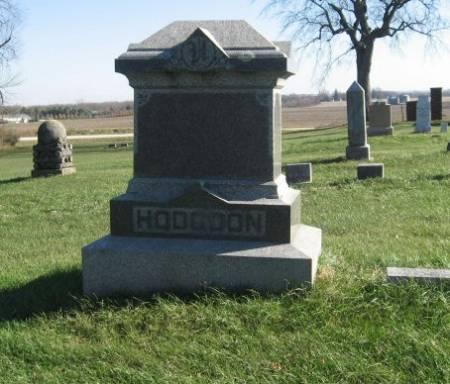 HODGDON, WILLIE (LOT) - Mitchell County, Iowa   WILLIE (LOT) HODGDON