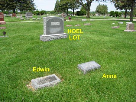 HOEL, EDWIN (LOT) - Mitchell County, Iowa   EDWIN (LOT) HOEL