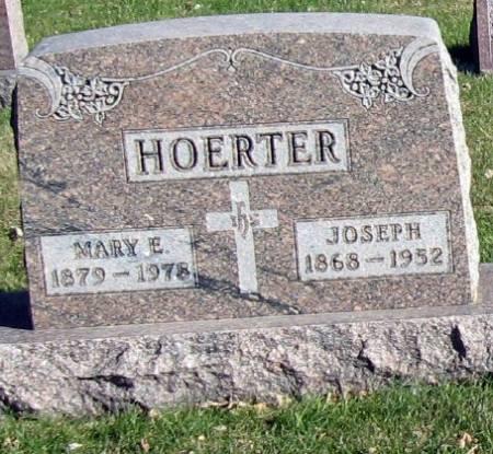 HOERTER, MARY E. - Mitchell County, Iowa   MARY E. HOERTER