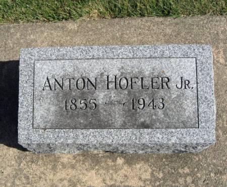 HOFLER, ANTON (JR.) - Mitchell County, Iowa | ANTON (JR.) HOFLER