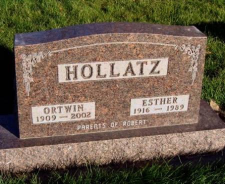 HOLLATZ, ESTHER - Mitchell County, Iowa | ESTHER HOLLATZ