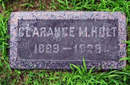HOLT, CLARANCE M. - Mitchell County, Iowa | CLARANCE M. HOLT