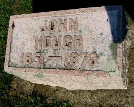 HOUGH, JOHN - Mitchell County, Iowa   JOHN HOUGH