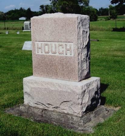 HOUGH, WILLIAM (FAMILYSTONE) - Mitchell County, Iowa   WILLIAM (FAMILYSTONE) HOUGH