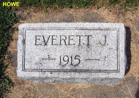 HOWE, EVERETT J. 1915 - Mitchell County, Iowa | EVERETT J. 1915 HOWE