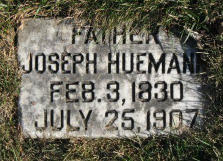 HUEMANN, JOSEPH 1830 - Mitchell County, Iowa   JOSEPH 1830 HUEMANN