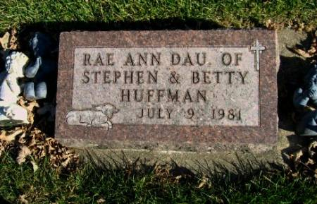 HUFFMAN, RAE ANN - Mitchell County, Iowa   RAE ANN HUFFMAN