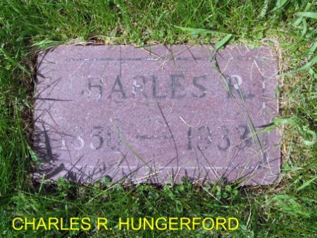 HUNGERFORD, CHARLES R. - Mitchell County, Iowa | CHARLES R. HUNGERFORD