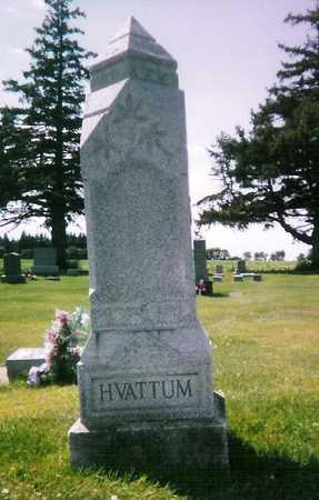 HVATTUM, HOVEL - Mitchell County, Iowa   HOVEL HVATTUM