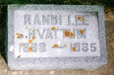 HVATTUM, RANDI LEE - Mitchell County, Iowa | RANDI LEE HVATTUM