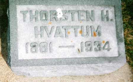 HVATTUM, THORSTEN - Mitchell County, Iowa | THORSTEN HVATTUM