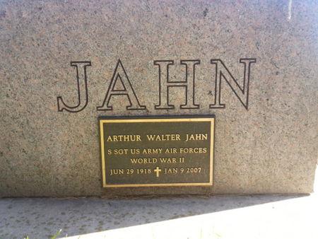 JAHN, ARTHUR WALTER (MILITARY) - Mitchell County, Iowa   ARTHUR WALTER (MILITARY) JAHN