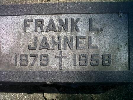JAHNEL, FRANK L. - Mitchell County, Iowa | FRANK L. JAHNEL